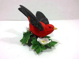 THE LENOX GARDEN BIRD COLLECTION Scarlet Tanager (Fine Porcelain 1992) image 5
