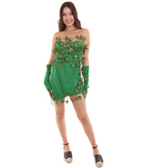 Adult Women's Costume for Cosplay Lethal Beauty Sexy Poison Ivy HC-366 - £28.01 GBP