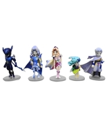 Fantasy 4 Ⅳ Trading Arts Mini Figure Cecil Rydia Edge Rosa Kain Lot Of F... - $112.33