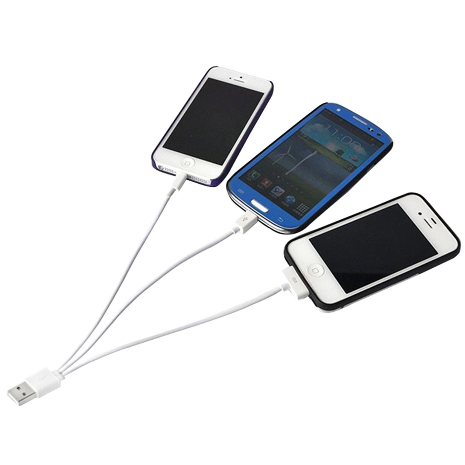 New 3 in 1 USB Charging & Data Sync Cable For Android iPhone HTC A4
