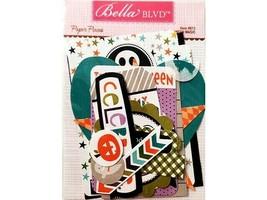"Bella BLVD Cardstock Paper Pieces ""Halloween Magic"", Various Shapes of Ephemera"