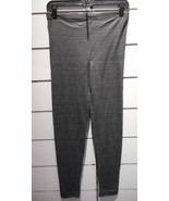 Leggings Size Large Xlarge Dark Gray Footless Sexy Stretch Cotton Pant NWT - $5.17