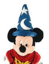 "Mickey Mouse The Disney Store 19"" Sorcerer's Apprentice Fantasia Plush S... - $34.50"