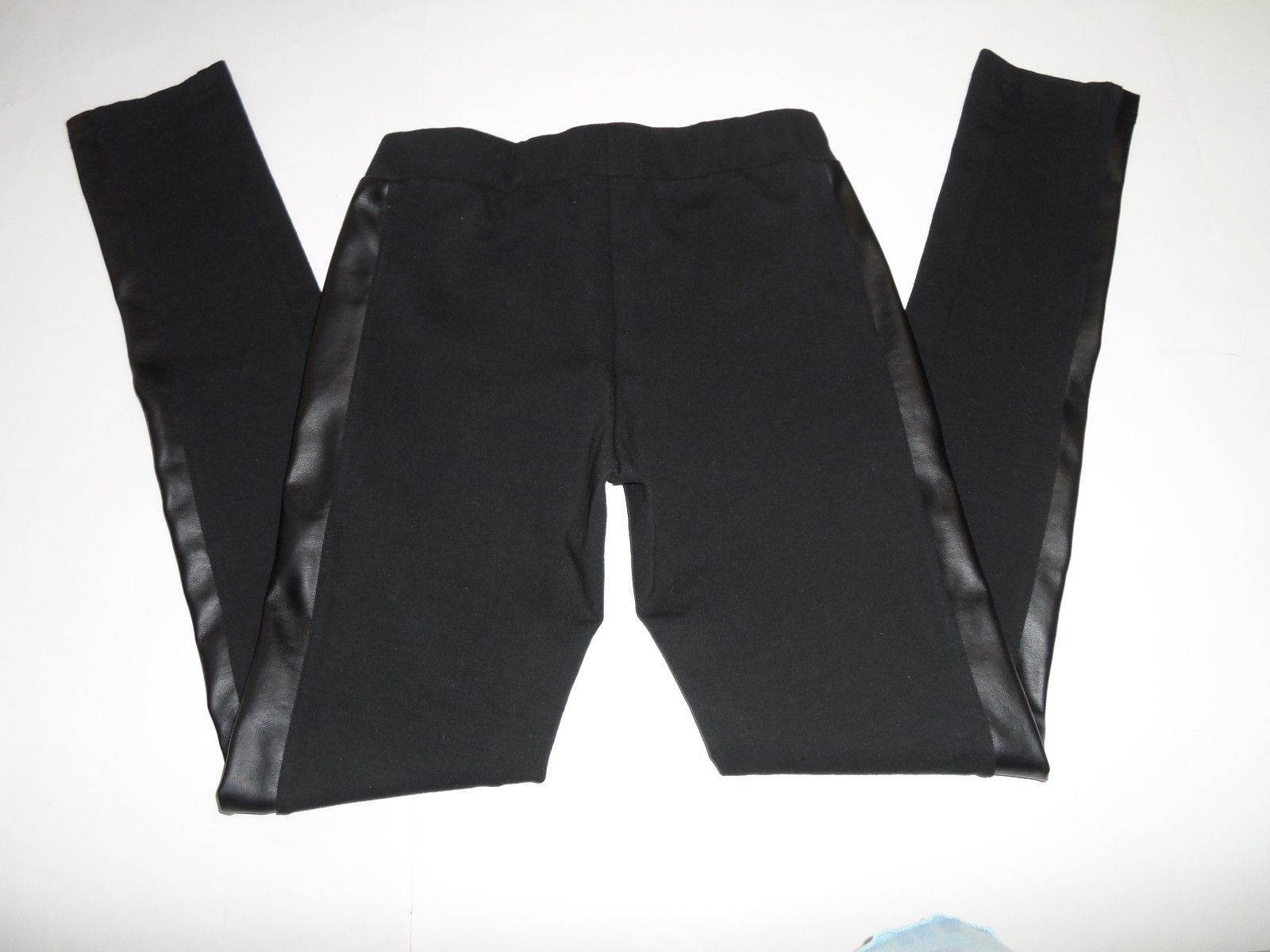 Nordstrom RID Faux Leather Panelled Legging Black Size S-$44 image 4
