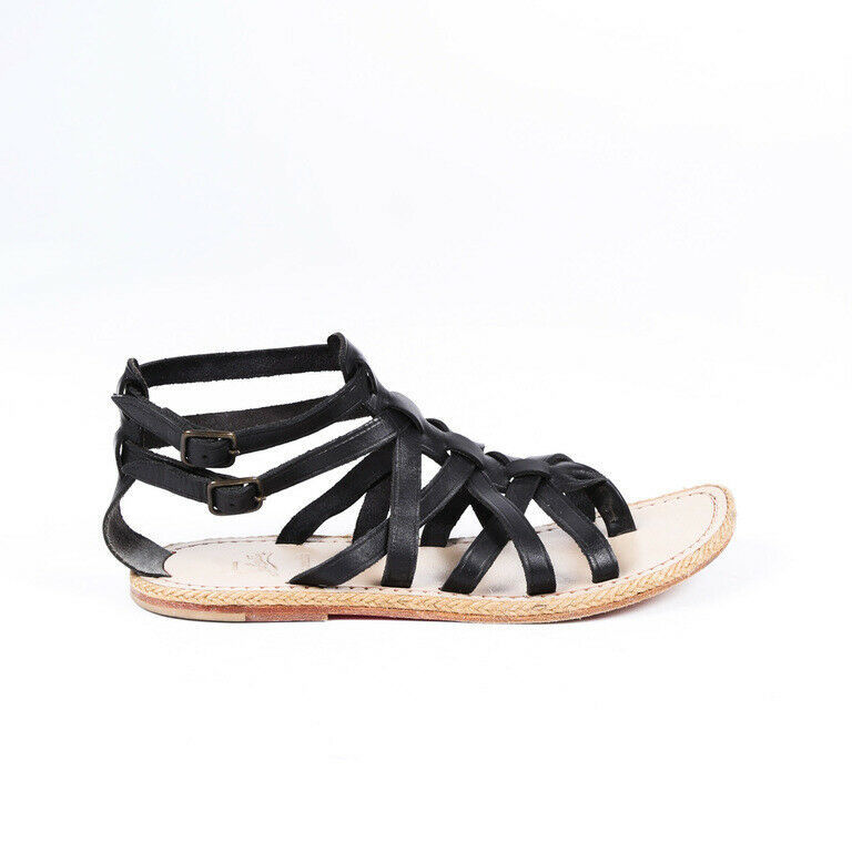 Primary image for Christian Louboutin Leather Gladiator Sandals SZ 38