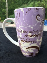 What The Mind Can Conceive, It Can Achieve 24 oz Coffee Mug ~ Cup - $7.95