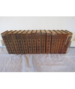 14 Volumes of Modern Eloquence Antique Leather Bound J D Morris 1900 Tho... - $98.06