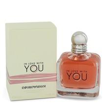 Giorgio Armani In Love With You 3.4 Oz Eau De Parfum Spray  image 2