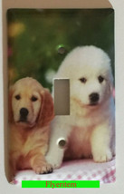 Puppy dogs dog Toggle, Rocker Light Switch Power Outlet Duplex Wall Cover plate image 1