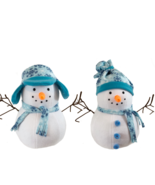 Snowman Sewing Pattern - DIY Homemade Christmas Decorations - $6.99