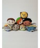 Disney Tsum Tsum Plush Lot of 8 Disney Characters - $20.53