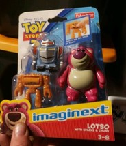 Fisher Price Imaginext TOY STORY - Lotso with Sparks & Chunk - NEW - $27.99