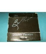 """The Burt Reynolds Dinner Theatre"" Matchbook - $5.51"