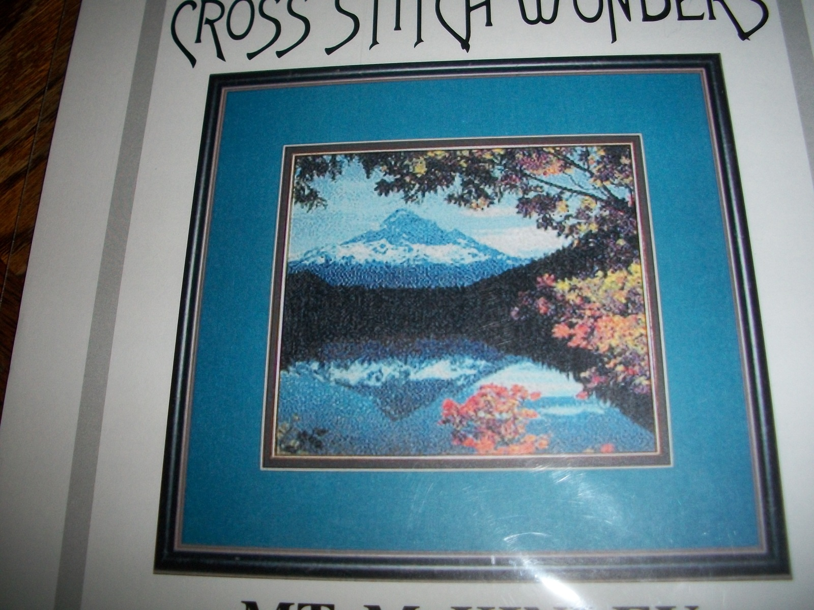 Fall Reflection Mt. McKinley Cross Stitch Chart by Marcia Manning - $20.00