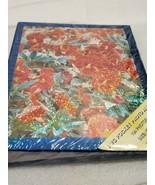 104 PHOTO ALBUM 4 x 6 10cm x 15cm PVC POCKET PADDED ORANGE FLOWERS GLITT... - $5.93