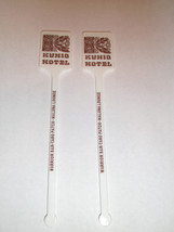 Kuhio Hotel Warrior Bar Taro Patch Maluna Lounge WAIKIKI Swizzle Sticks ... - $9.69
