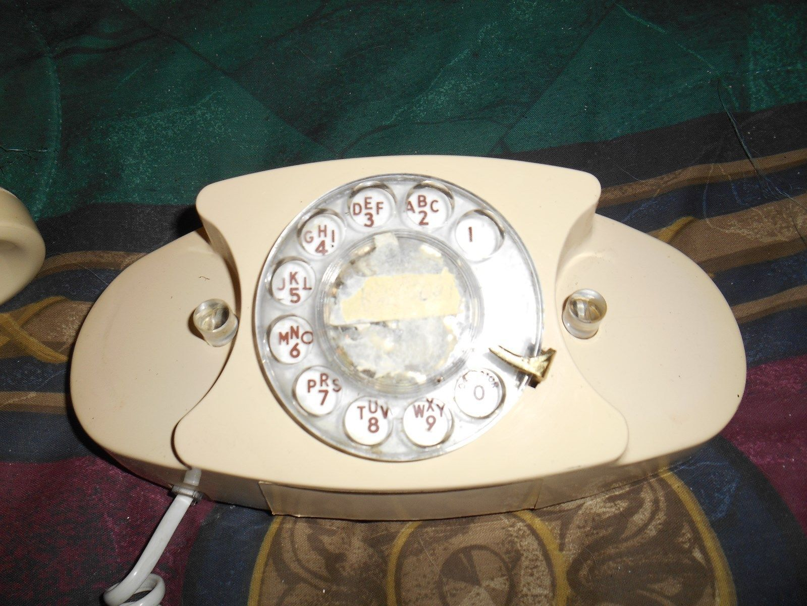 1983 Pacific Bell Rotary Dial Desk Top Telephone