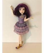 Disney Descendants Mal Doll Isle of The Lost Hasbro Articulated Purple D... - $29.99