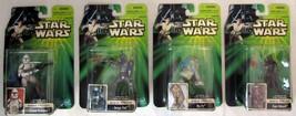 Star Wars Episode II 4 Figures Sneak Preview Jango Fett Zam Wesell R3-T7... - $34.64
