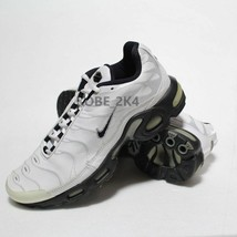 Nike Vintage Max  Plus Men's White Leather Sneakers US Size 12 - $105.72