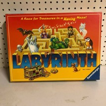 Labyrinth Moving Maze Treasure Race Family Board Game Ravensburger 2007 COMPLETE - $29.69