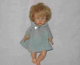 """PRETTY Vintage 8"""" VINYL Baby Doll - $58.58"""