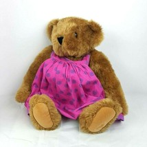 "Vermont Teddy Bear Pregnant Bear Gender Reveal Announcement 16"" Jointed ... - $21.78"