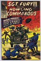 Sgt Fury and His Howling Commandos #40 ORIGINAL Vintage 1967 Marvel Comics - $14.84