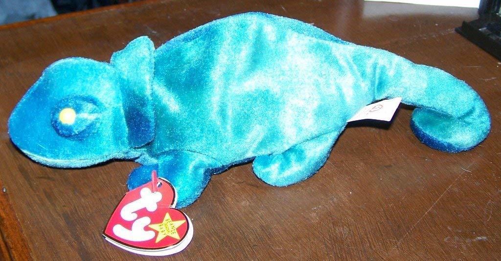 ef0c35d2be4 TY Beanie Baby - RAINBOW the Chameleon dark and similar items