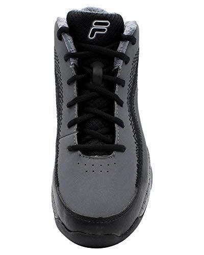 Fila Mens Contingent 4 Sneaker,Charcoal,13