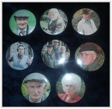 "Last of the Summer Wine - 2-1/4"" Reproduction Pinback Buttons - Set of 8... - $9.95"