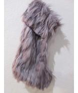 """TAHARI Home Luxury Faux Fur Christmas Stocking 22"""" Lavender Purple NWT P... - $42.99"""