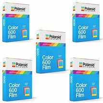 Polaroid Originals Instant Color Film for Color Frames 600 Camera 5 Pack... - $153.97