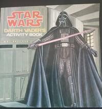 Vintage STAR WARS Darth Vader's Activity Book Random House 1979 edition - $7.99