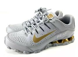 Nike Reax TR 8 Running Cross Training Shoes  MENS 7.5 Gray Metallic Gold - $89.00