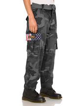 SW Men's Tactical Combat US Force Military Army Cargo Pants Trousers with Belt image 3