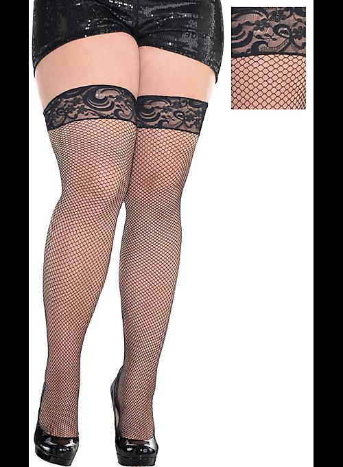 fe41577bbc5c0 women stockings Hold Ups up plus size 7X 7XL 7XXXXL EU 48 - 54 many colors