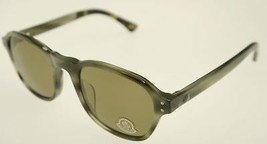 MONCLER MC021-S07 Gray Tortoise / Brown Sunglasses MC 021-S07 51mm - $166.11
