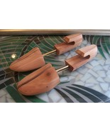 "Pair of Women's Cedar Shoe Trees Form Size L 10-3/4"" Length - $6.99"