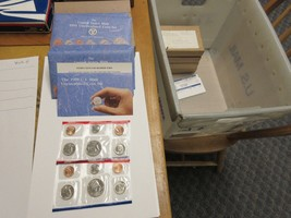 1991 , United States Mint , Uncirculated Mint Set , Lot of 5 Sets image 2