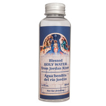 Blessed Holy Water Jordan's River Authentic Bottle Holy Land 3.4 fl.oz/1... - $7.92