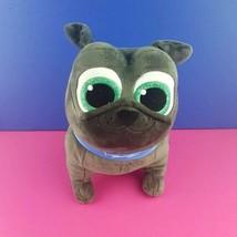 "Disney Store Puppy Dog Pals Bingo Plush Bulldog Blue Gray Big Eyes 10"" S... - $15.83"