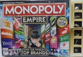 Monopoly Empire Board Game Classic Brand Family Box Fun Race Gameboard C... - $24.90