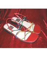 Sexy Mootsies Tootsies Sandals Shoes Slides 8.5 M - $12.50