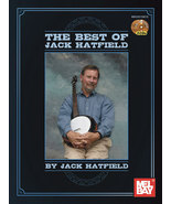 Best of Jack Hatfield/Banjo/Book w/2 CDs/New!  - $22.99