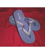 New Blue Colin Stuart Thong Sandals Slippers Sz 11 - $18.00