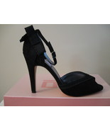 WOMAN SHOES, Jennifer Lopez (Jobi) Black Suede 8.5 - $10.00