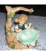 Napco Swing Girl Planter   from the 50's) - $20.00