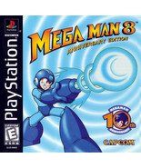 Mega Man 8 PS1 Great Condition Fast Shipping - $19.93