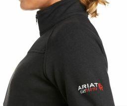 Ariat 10018157 Women Black Flame Resistant Polartec Platform Long Sleeves Jacket image 3